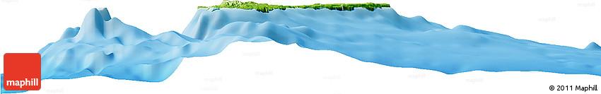 Physical Horizon Map of Guam