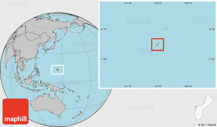 Guam on world maps blank free usa maps blank location map of guam gray outsiderhmaphill guam on world maps blank at sokhangu gumiabroncs Images