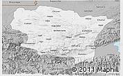 Gray 3D Map of Alta Verapaz