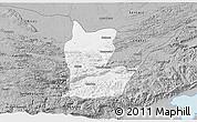 Gray 3D Map of Cahabon