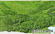 Satellite 3D Map of Cahabon