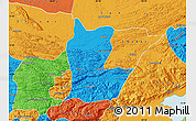 Political Map of Cahabon