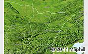 Satellite Map of Cahabon