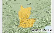 Savanna Style Map of Cahabon