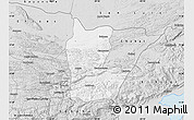 Silver Style Map of Cahabon