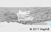 Gray Panoramic Map of Cahabon