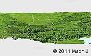 Satellite Panoramic Map of Cahabon