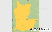 Savanna Style Simple Map of Cahabon