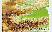 Physical Map of Panzos