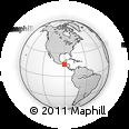 Outline Map of S.Cristobal Vera