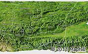 Satellite 3D Map of Senahu