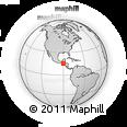 Outline Map of Senahu