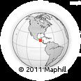 Outline Map of Baja Verapaz