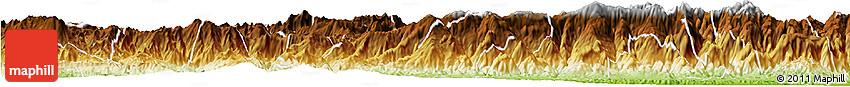 Physical Horizon Map of Purulha