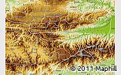 Physical Map of Purulha