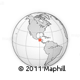 Outline Map of Chiquimula
