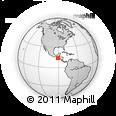Outline Map of Escuintla