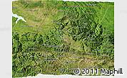 Satellite 3D Map of Huehuetenango