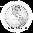 Outline Map of Huehuetenango