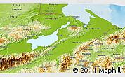 Physical 3D Map of Izabal