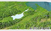Satellite 3D Map of Izabal