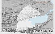 Gray 3D Map of El Estor