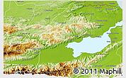 Physical 3D Map of El Estor