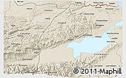 Shaded Relief 3D Map of El Estor