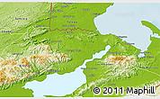 Physical 3D Map of Livingston