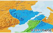 Political 3D Map of Livingston