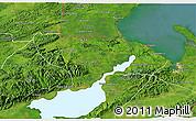 Satellite 3D Map of Livingston