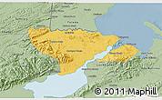 Savanna Style 3D Map of Livingston