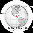 Outline Map of Livingston
