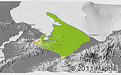 Physical 3D Map of Pto. Barrios, desaturated