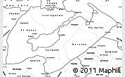 Blank Simple Map of Izabal