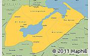 Savanna Style Simple Map of Izabal