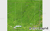 Satellite 3D Map of Flores