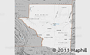 Gray Map of Peten