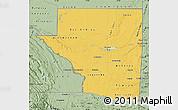 Savanna Style Map of Peten