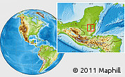 Physical Location Map of Melchor de Menco
