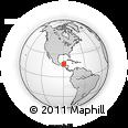 Outline Map of Melchor De Menco