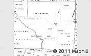 Blank Simple Map of Peten