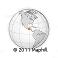 Outline Map of San Marcos