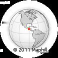 Outline Map of Santa Rosa