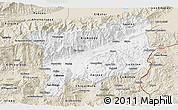 Classic Style 3D Map of Zacapa