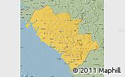 Savanna Style Map of Kindia