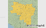 Savanna Style Map of Labe