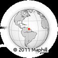 Outline Map of Demerara/mahaica