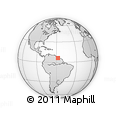 Outline Map of Mahaica/berbice