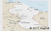 Classic Style Panoramic Map of Guyana
